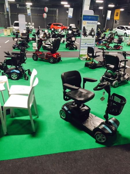 Selection of Electric Mobility Rascal products available on Motability Scheme