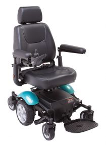 Mid-wheel powerchairs