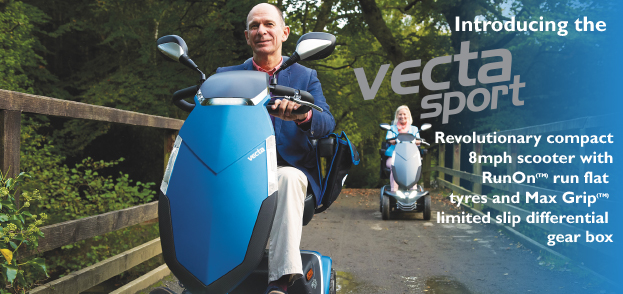 Vecta Sport 8mph Compact Scooter