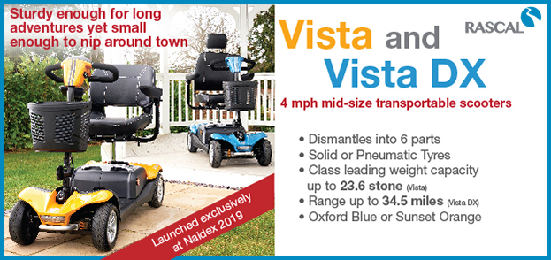 Vista and Vista DX Mid-size scooters